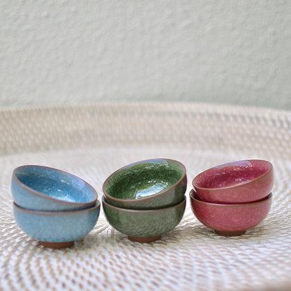 Ceramic Tea Cups (Set of 4)