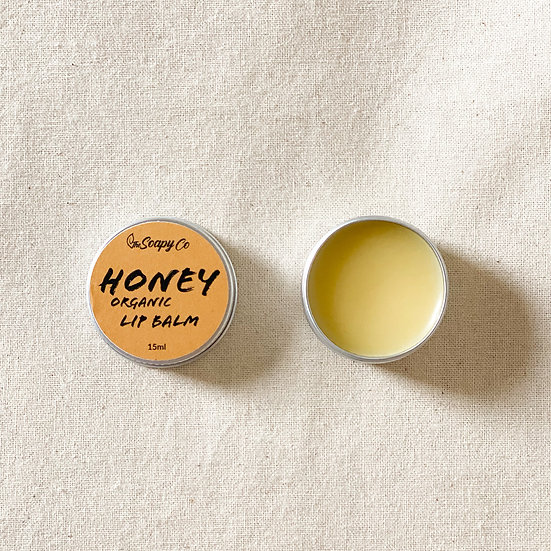 Honey Flavoured Lip Balm (Organic & Vegan)