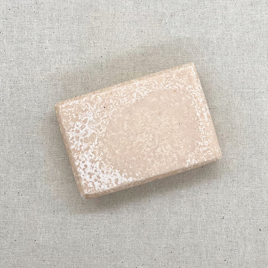 Fragrance Free - French Pink Clay Salted Soap Bar