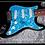 Thumbnail: GFA Pop Star Icon * STEVIE WONDER * Signed Electric Guitar PROOF COA