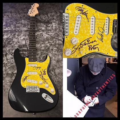 GFA Michael McDonald * THE DOOBIE BROTHERS * Band Signed Electric Guitar COA