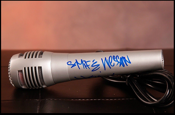 GFA Tek and Steele * SMIF-N-WESSUN * Signed Microphone COA