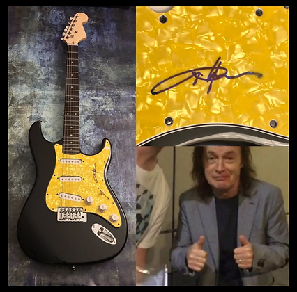 GFA AC/DC Band Guitarist * ANGUS YOUNG * Signed Electric Guitar PROOF COA