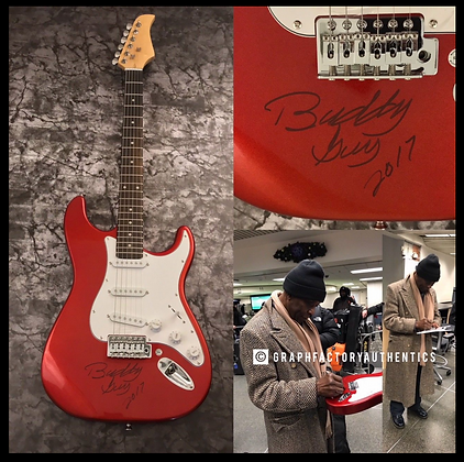 GFA Great Blues Guitarist * BUDDY GUY * Signed Electric Guitar EXACT PROOF COA