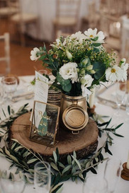 18 Chic Rustic Wedding Centerpieces with