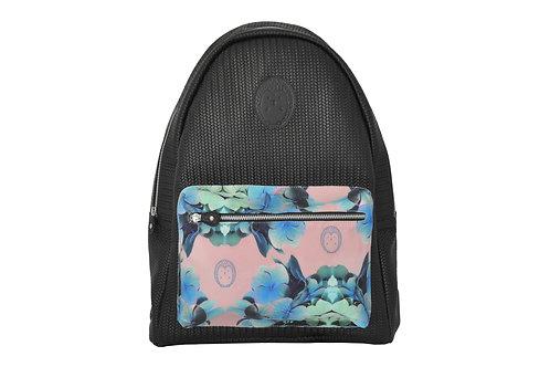 Backpack negra tejida