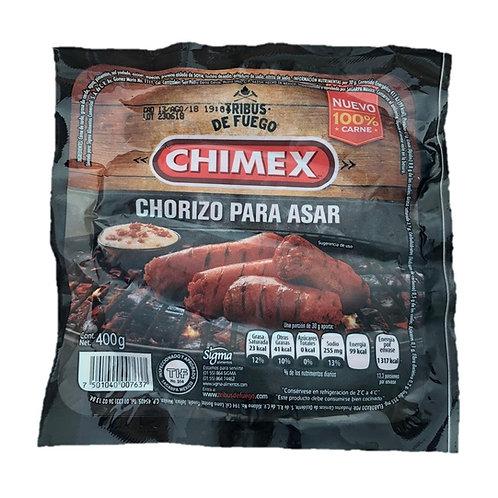 Chimex chorizo para asar