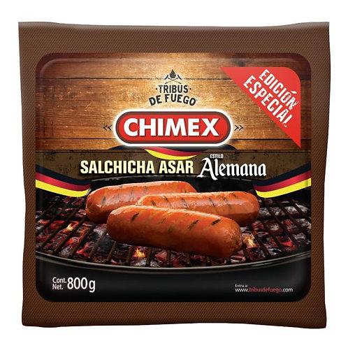 Chimex salchicha para asar tipo alemana