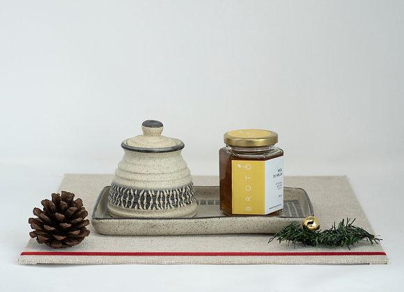 Cerámica con miel
