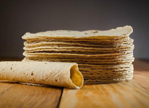 Tortilla trigo $35.00KG