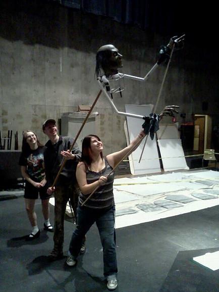 marley puppet