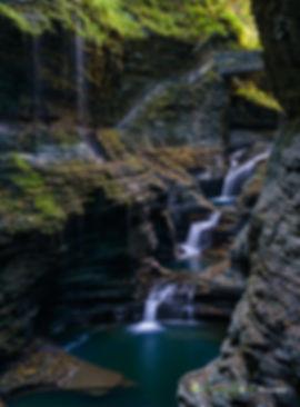 Watkins Glenn Waterfall from New York