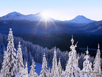 """""""Powder Your Face with Sunshine"""" - Oregon"""