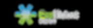 Ecofficient Design Logo Colour on Black.