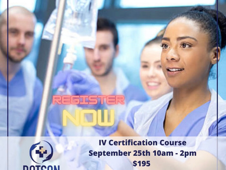 DHI is now offering IV certification