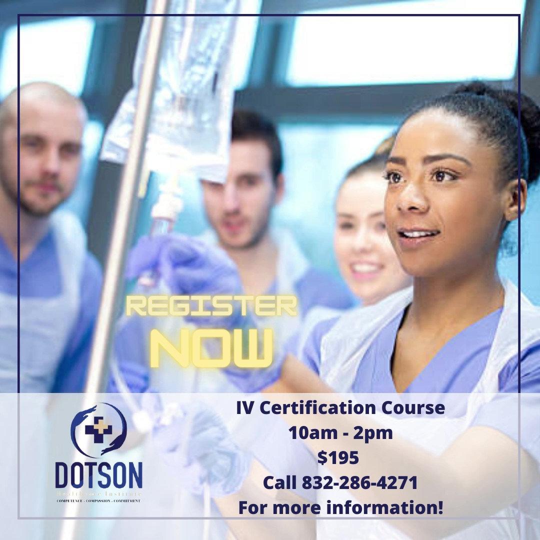 IV Certification