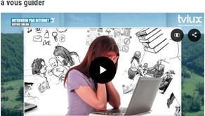 Interview TV Lux: des pistes pour les parents en confinement