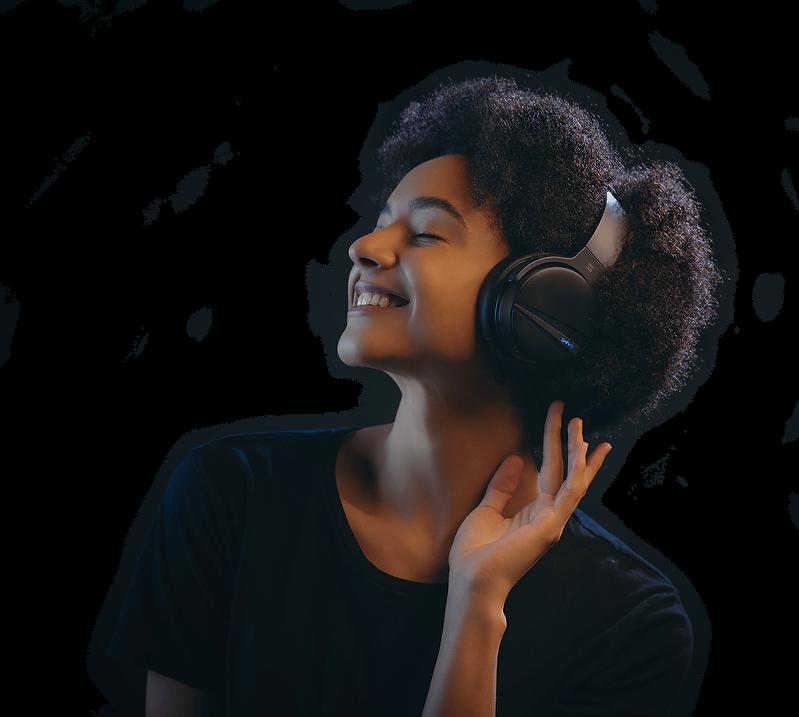 SHIVR Headphone - Ultra-advanced noise cancelling technology