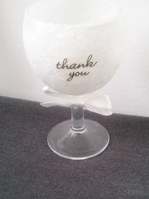 Thank you small wine glasses