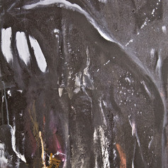 Pleather Painting (detail)