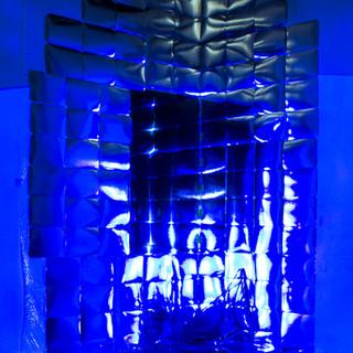 Static Light Blue