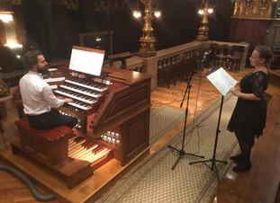 Virágh András Gábor: A IV. zsoltár szoprán hangra és orgonára