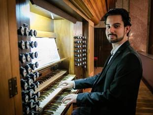 A Martinus Orgonafesztivál részeként adott koncertet Mészáros Zsolt Máté