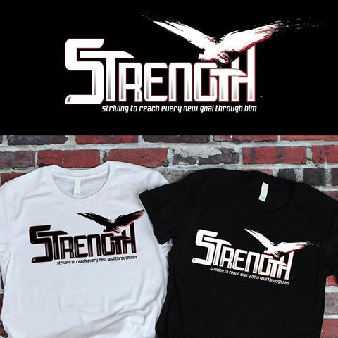 STRENGTH Brand T-shirt designs Are you t