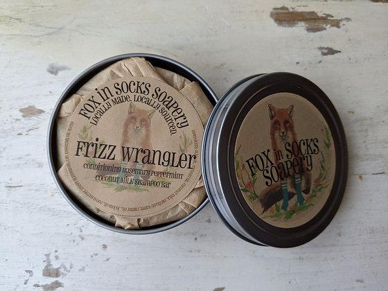 Frizz Wrangler Shampoo and Conditioner Bar