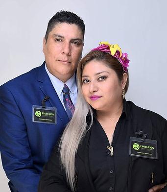 Vero Téllez y Antonio Aguilar