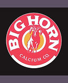 logo for bighorn calcium crushing company