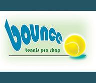 a fun logo designed for a tennis center pro shop