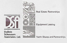 a classy logo for real estate partnerships, equipment leasing and yacht shares partnerships