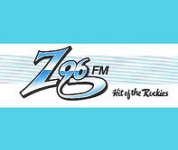 a flashy call letter logo for a radio station playing hits