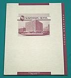 hotel folder design
