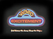 a neon look design to attract video franchisers