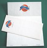 a fun letterhead design