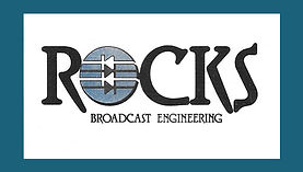 a logo for an electronic wizard in the broadcast engineering field