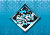an event logo designed to honor a silver anniversary of a public arena in Billings