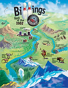 billings regional events promo book cover design
