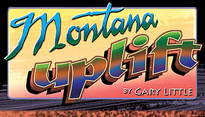Montana Uplift is the designs of artist Gary and sculptures of Montana Mountains and education of the peaks all over the state
