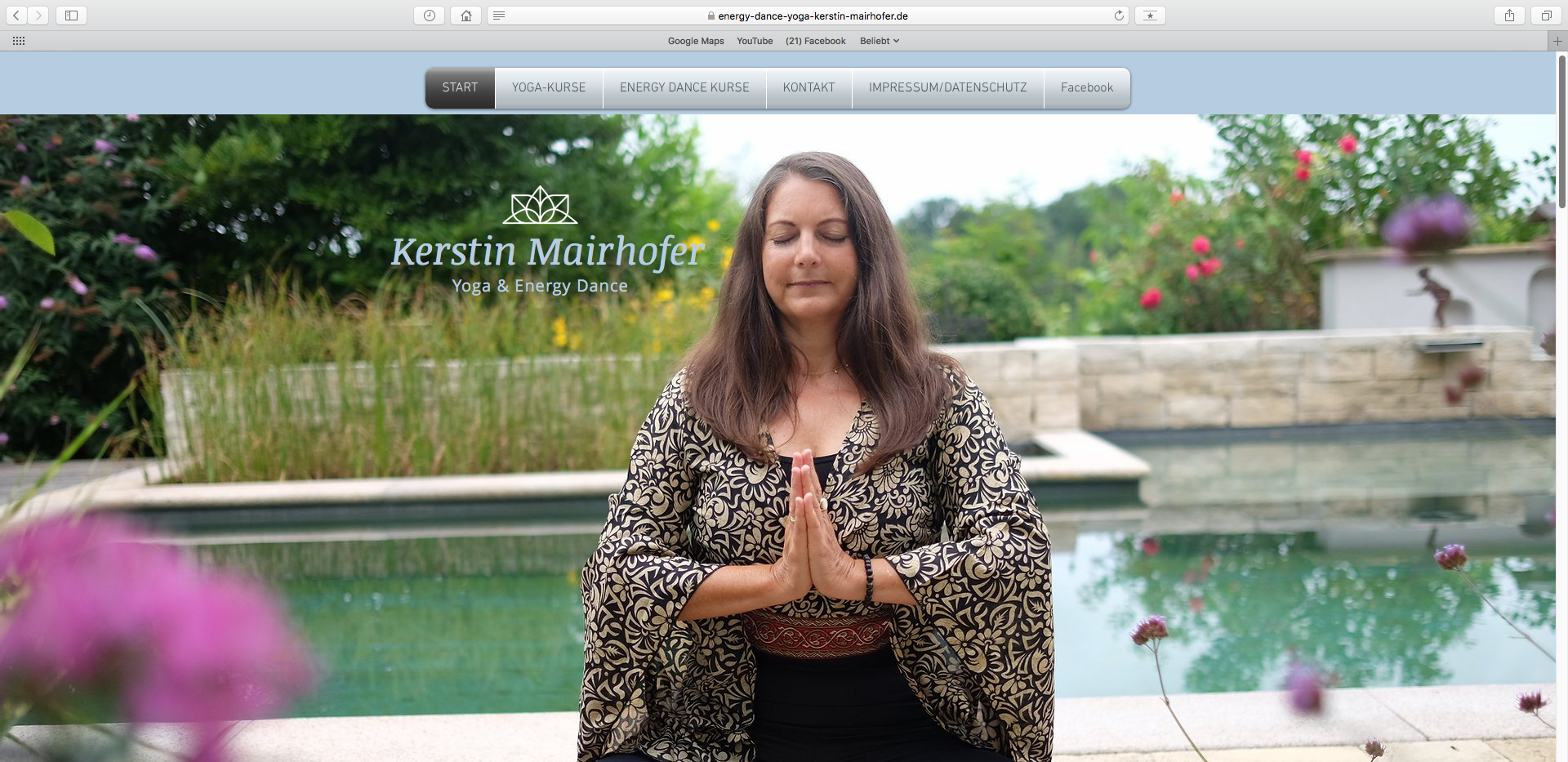 Website Kerstin Mairhofer Energy Dance