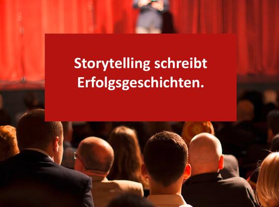 Storytelling wirkt