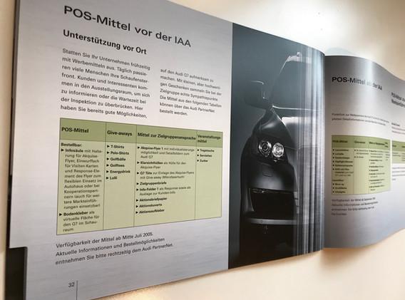 Audi Q7 Handbuch