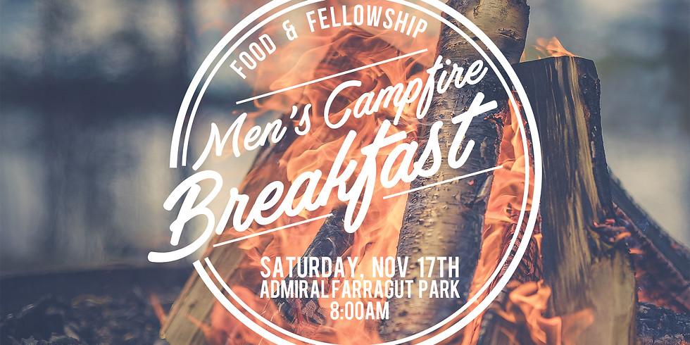 Men's Campfire Breakfast