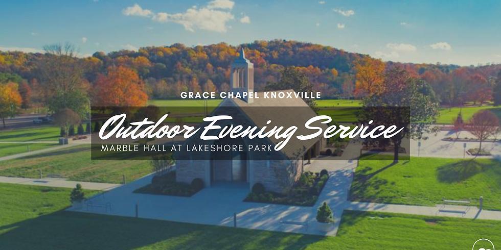 Outdoor Evening Service
