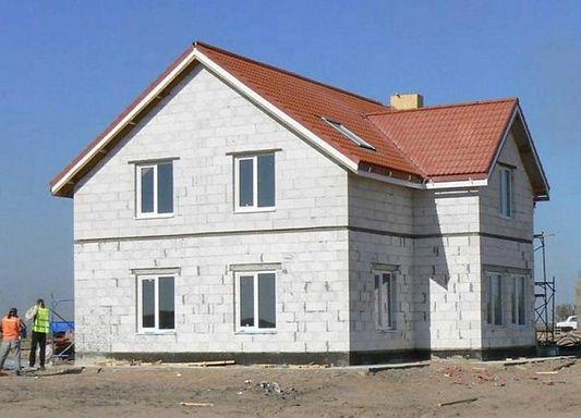 Дом из газоселиката