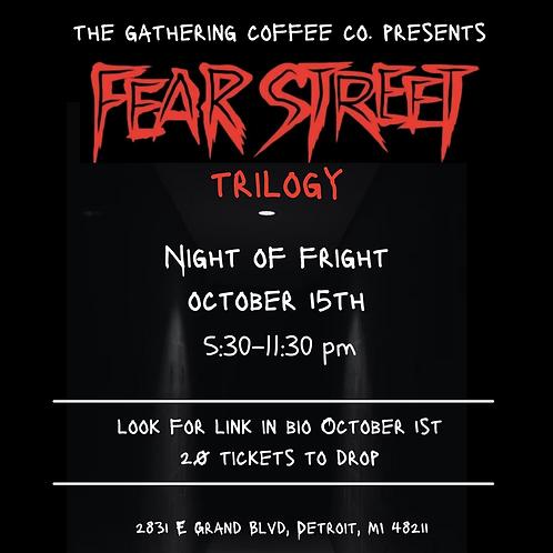 Fear Street Event- Ticket