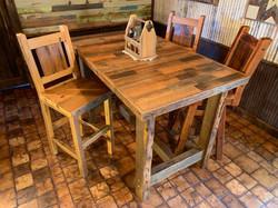 Skip Planed Pub Table Set
