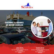Custom clearance of motor vehicles